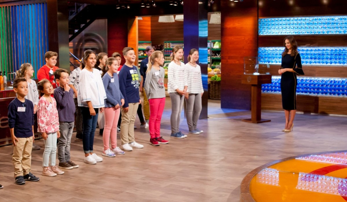 Primer programa Masterchef Junior